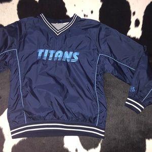 Vintage Tennessee Titans small windbreaker